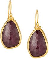 Gurhan Elements 24k Ruby Drop Earrings