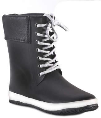 dav Coachella Cuff Waterproof Women Mid-Height Rain Boot Women Shoes