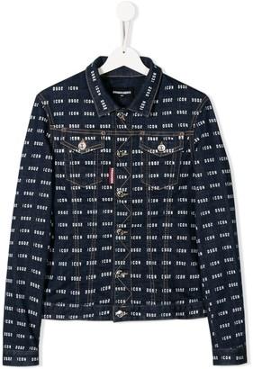 DSQUARED2 TEEN Icon denim jacket