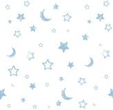 Disney Pooh Goodnight Wallpaper Sample - Multicoloured