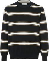 TOMORROWLAND striped crew neck sweater