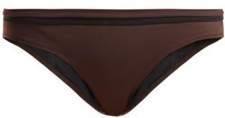 Solid & Striped The Nora Bikini Briefs - Womens - Brown Multi