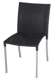Roger Vivier R&V Living Olivia Dining Chair in Black