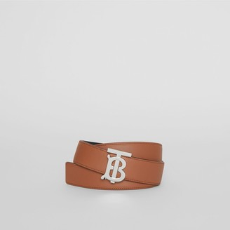 Burberry Reversible onogra otif Leather Belt