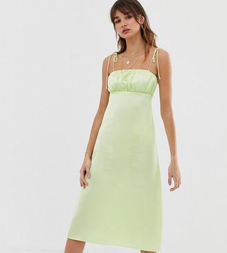 Reclaimed Vintage inspired cami midi dress