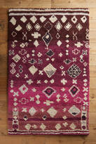Anthropologie Morro Diamond Rug
