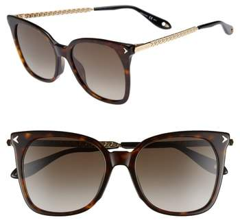 Givenchy 54mm Square Sunglasses