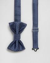 Devils Advocate Bow Tie in Navy