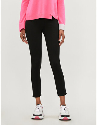 Spanx 4-Pocket high-rise skinny stretch-ponte trousers