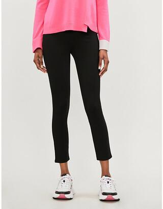 Spanx 4-Pocket high-rise skinny stretch-ponté trousers