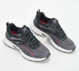 Ryka Mesh Lace-Up Walking Sneakers - Sky Walk 2