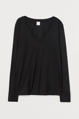 H&M V-neck Jersey Top