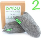 Shoe Deodorizer Bags - Carbon Activated Bamboo Charcoal Air Purifiers (100g x 2)