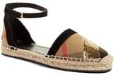Burberry Women's 'Abbingdon' Ankle Strap Espadrille Sandal