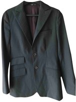 Notify Jeans Anthracite Wool Jacket for Women
