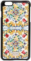 Dolce & Gabbana Majorca Printed Iphone 6 Plus Case