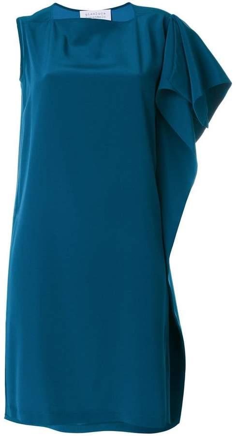 Gianluca Capannolo one shoulder dress