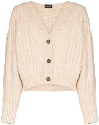 Magda Butrym Albion chunky-knit cardigan