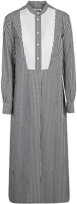 Calvin Klein Collection Checked Dress