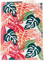 Neiman Marcus Tropical-Print Passport Case, Multi
