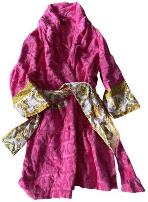 Versace Pink Cotton Swimwear