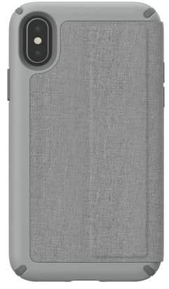 Speck Grey iPhone XS/X Presidio Folio Case