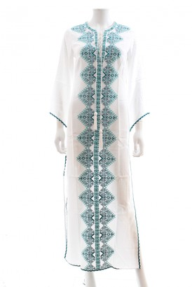 Talitha Collection White Cotton Dress for Women