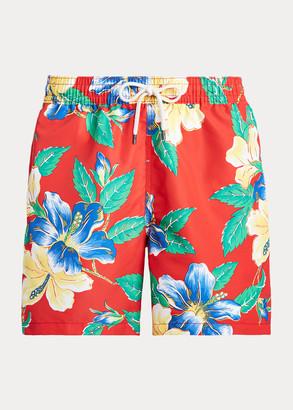 Ralph Lauren Traveler Floral Swim Trunk