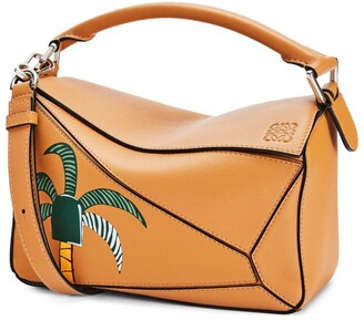 Loewe + Ken Price Small Leather La Palme Puzzle Bag