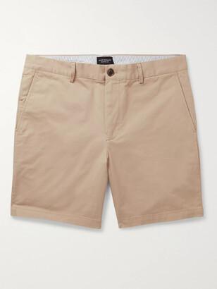 Club Monaco Baxter Cotton-Blend Twill Shorts
