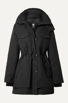Canada Goose Gabriola Hooded Quilted Shell Down Parka - Black
