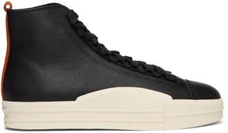 Y-3 Black Yuben High-Top Sneakers