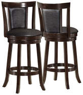 Monarch Two-Piece Padded-Back Counter-Height Stools