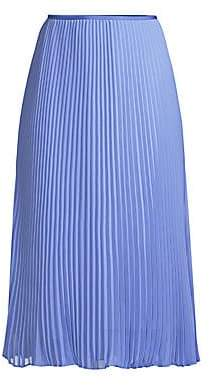 Polo Ralph Lauren Women's Pleated Midi Skirt