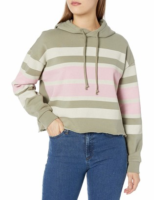 RVCA Junior's Quarter Pullover Hoodie