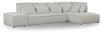 """Latitude Run Middlebrooks 122"""" Chaise Sectional Orientation: Right Hand Facing"""