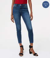 LOFT Curvy Skinny Ankle Jeans in Original Medium Stonewash