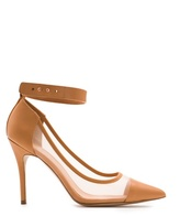 MANGO Touch - Mesh Leather Stiletto Shoes