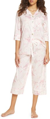 Papinelle Water Blossom Crop Pajamas