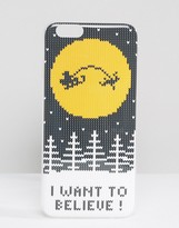 FLAVR Flavr I Want To Believe iPhone 6 Case