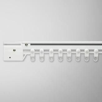 John Lewis & Partners Aluminium Corded Curtain Track, White