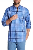 Robert Talbott Plaid Print Classic Fit Sport Shirt