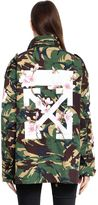 Off-White M65 Camo & Cherry Blossom Field Jacket