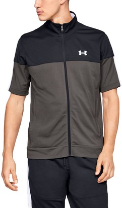Under Armour Men's UA Sportstyle Pique Short Sleeve Full Zip