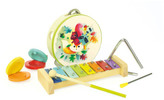 Vilac Woodland Musical Instrument Set Multicoloured