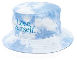 Paco Rabanne Lose Yourself Tie-dye Cotton Bucket Hat - Blue