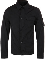 Cp Company Black Nylon Watchviewer Overshirt