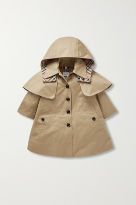 Burberry Ages 3 - 12 Cotton-gabardine Trench Coat