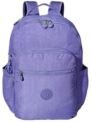 Kipling Seoul Laptop Backpack (Cloud Metal) Backpack Bags
