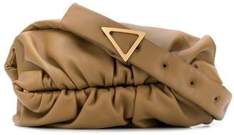 Bottega Veneta Ruched-Detail Shoulder Bag